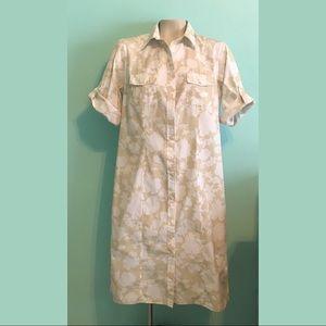 ♻️ EUC Lands End Shirt Dress